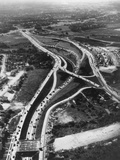 Aerial View of Limited Access Highway on Long Island Photo