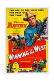 Winning of the West, Gene Autry, 1953 Prints
