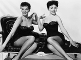 Gentlemen Marry Brunettes, from Left, Jane Russell, Jeanne Crain, 1955 Print