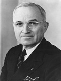 Harry Truman, President of U.S. from April 12, 1945 to Jan. 20, 1953 Prints