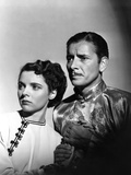 Lost Horizon, from Left, Jane Wyatt, Ronald Colman, 1937 Photo