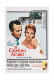 A Certain Smile, from Left: Rossano Brazzi, Christine Carere, 1958 Posters
