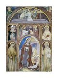Annunciation, Nativity, Resurrection with Saints, 15th C Prints