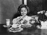 Shirley Temple, Ca. 1935 Poster