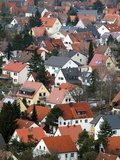 Aerial View of a Houses in Neumarkt in Der Oberpfalz, Germany Photo