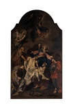 Deposition of Christ Giclee Print by Giambattista Pittoni
