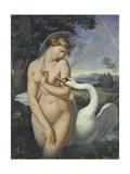 Leda and the Swan Posters by Antonio Raffaele Calliano