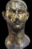 Portrait of Roman Emperor Probus, 3rd C Print