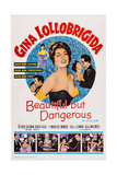 Beautiful But Dangerous, 1956 Poster