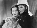 Under Two Flags, from Left: Rosalind Russell, Ronald Colman, 1936 Prints