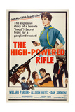 The High Powered Rifle, Top Right: Allison Hayes; Bottom Right: Willard Parker, 1960 Posters