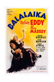 Balalaika, from Left: Nelson Eddy, Ilona Massey, 1939 Prints