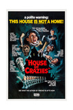House of Crazies, (Aka Asylum), Top from Left: Barbara Parkins, Peter Cushing, 1972 Plakater