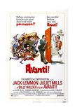 Avanti!, 1972 Posters