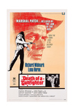 Death of a Gunfighter, Bottom Right Insert: Lena Horne, Richard Widmark, 1969 Plakater