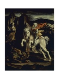 Saint George and the Dragon Print by Lelio Orsi
