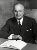 Harry Truman, President of U.S. in 1952 Prints