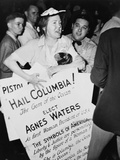 Agnes Waters at the 1948 Democratic National Convention Prints