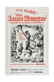 The Lone Ranger, from Center Left: Jay Silverheels, Clayton Moore, 1956 Prints