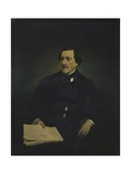 Composer Gioacchino Rossini Prints by Francesco Hayez