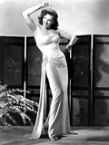 Macao, Jane Russell, in a Gown by Michael Woulfe, 1952 Photo