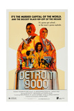 Detroit 9000 Art, Top: Hari Rhodes, Alex Rocco; Center: Vonetta Mcgee, 1973 Posters
