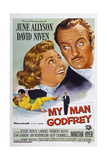 My Man Godfrey, from Left: June Allyson, David Niven, 1957 Print