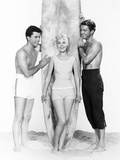 Gidget, from Left: James Darren, Sandra Dee, Cliff Robertson, 1961 Photo