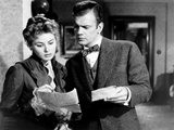 Gaslight, from Left, Ingrid Bergman, Joseph Cotten, 1944 Photo