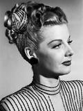 Nora Prentiss, Ann Sheridan Coiffure Test, 1947 Photo