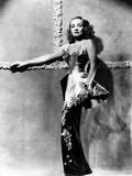 Seven Sinners, Marlene Dietrich, in a Gown by Irene, 1940 Photo