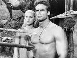Duel of the Titans, (Aka Romolo E Remo), from Left: Virna Lisi, Steve Reeves, 1961 Posters