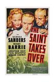 The Saint Takes Over, Wendy Barrie, George Sanders, Jonathan Hale, 1940 Posters
