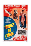 Things to Come, 1936 Prints