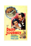 Dark Journey, from Left: Vivien Leigh, Conrad Veidt, 1937 Prints