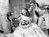 Gone with the Wind, from Left: Fred Crane, Vivien Leigh, George Reeves, 1939 Prints