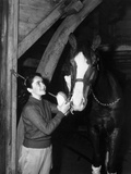 National Velvet, Elizabeth Taylor, 1944 Photo