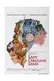 Lady Caroline Lamb, Sarah Miles, Jon Finch, Richard Chamberlain, 1972 Print