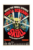 The Skull, Top Right with Dagger: Peter Cushing, 1965 Print