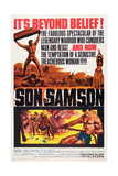 Son of Samson, (Aka Maciste Nella Valle Dei Re), Mark Forest, 1960 Print