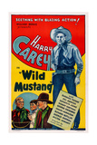 Wild Mustang, Right: Harry Carey, 1935 Prints