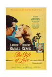 The Gift of Love, from Left: Robert Stack, Lauren Bacall, Evelyn Rudie, 1958 Plakat
