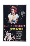 I'll Cry Tomorrow, Susan Hayward, 1955 Posters