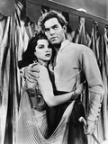 Princess of the Nile, from Left: Debra Paget, Jeffrey Hunter, 1954 Photo