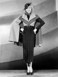 Ginger Rogers in Outfit Designed by Bernard Newman, 1935 Photo
