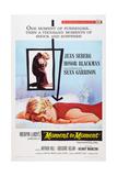 Moment to Moment, Center: Jean Seberg, 1967 Plakater