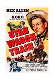 Utah Wagon Train, Top Right: Rex Allen, 1951 Prints