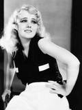 Anita Page Introduces the 'Fascisti' Black Shirt Which She Wears with White Pajama Trousers, 1929 Foto