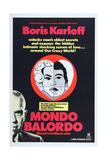 Mondo Balordo, (Aka a Fool's World), Boris Karloff (Bottom), 1964 Posters