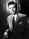 Laurence Harvey, Wearing the Goatee He Grew for King Richard and the Crusaders, 1954 Photo